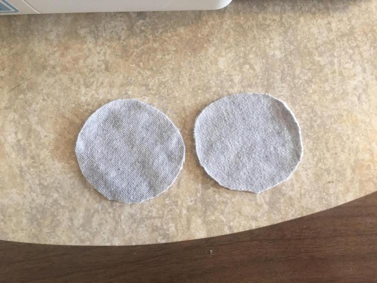 two halves diy makeup rounds
